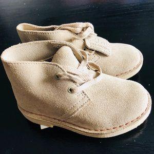 Clarks Original Tan Leather Boots